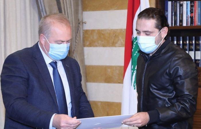 الحريري سلّم السفير الروسي رسالة لرئيس حكومة بلاده