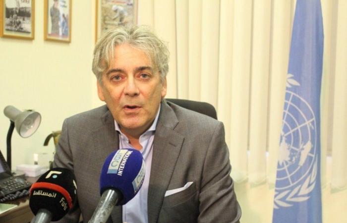 تيننتي: ندرس كيفية المساعدة في موضوع البقعة النفطية جنوب لبنان