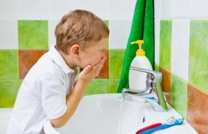 النظافة الشخصية للاطفال