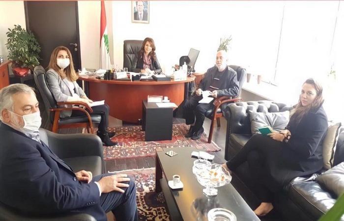 البرامج الإنمائية بين شريم ومديرة برنامج الامم المتحدة للمستوطنات البشرية