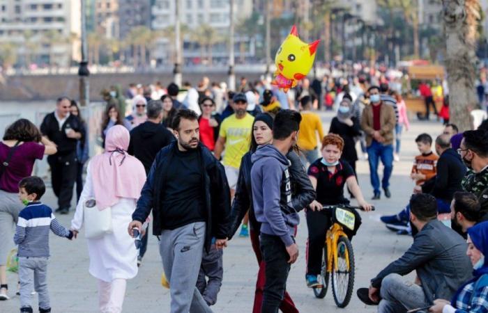 كورونا لبنان.. 42 حالة وفاة و2968 إصابة جديدة
