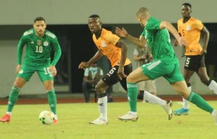 تعادل مثير بين الجزائر وزامبيا