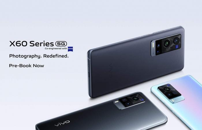 الإعلان عن سلسلة Vivo X60 الرائدة بكاميرات Zeiss