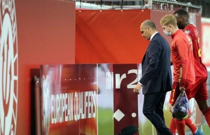 مدرب بلجيكا سعيد بأداء البدلاء في مباراة روسيا البيضاء