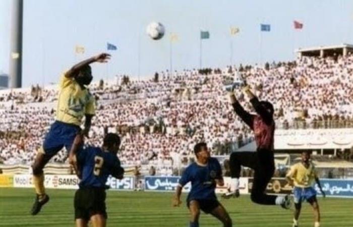 كم كانت أعمار لاعبي النصر عندما حقق الفريق كأس الملك آخر مرة؟