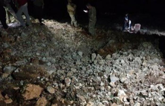 غارات اسرائيلية ليلاً على سوريا... وصاروخ سوري مضاد للطائرات يسقط داخل الأراضي اللبنانية (صور)