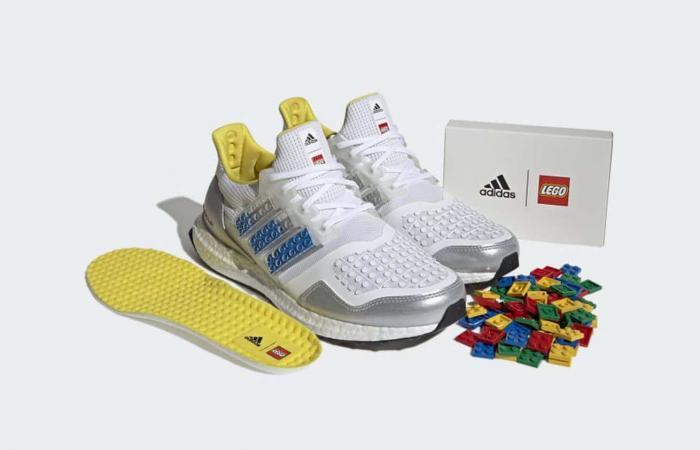 أديداس تطلق حذاء قابل للتخصيص عبر مكعبات Lego