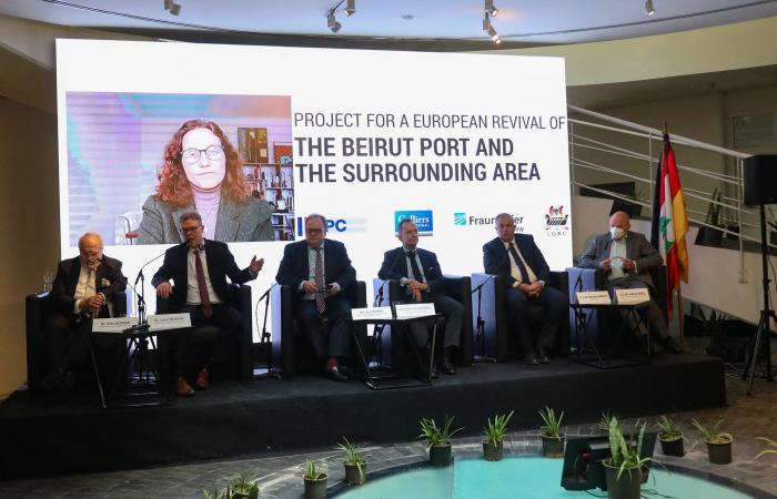 خطة طموحة لإعادة إعمار مرفأ بيروت من تصميم شركات ألمانية