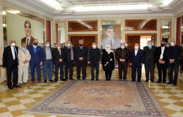 بهية الحريري استقبلت وفدًا من اتحادات عمال لبنان وتركيا وفلسطين