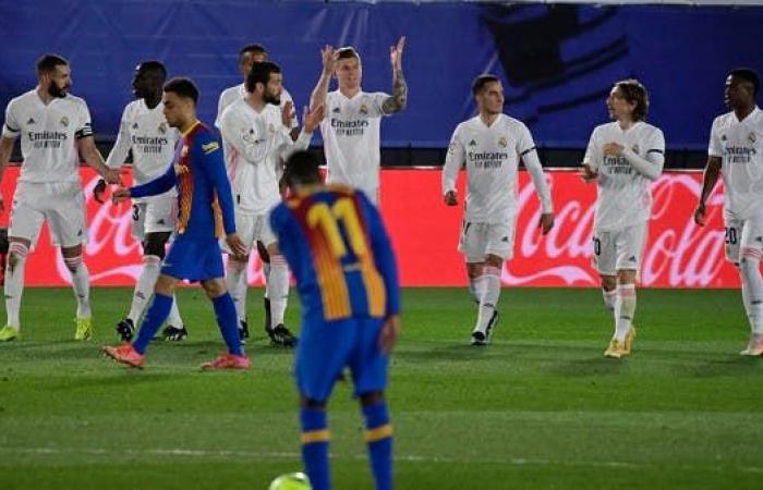 ريال مدريد يهزم برشلونة في 14 دقيقة