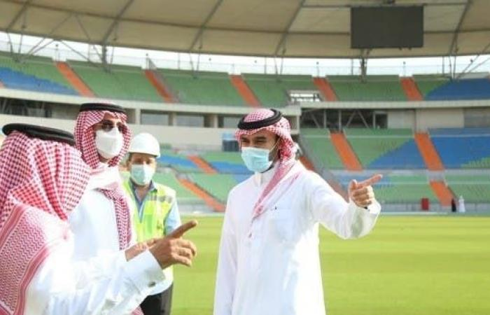وزير الرياضة يكشف موعد استضافة ملعب الأمير عبدالله الفيصل للمباريات