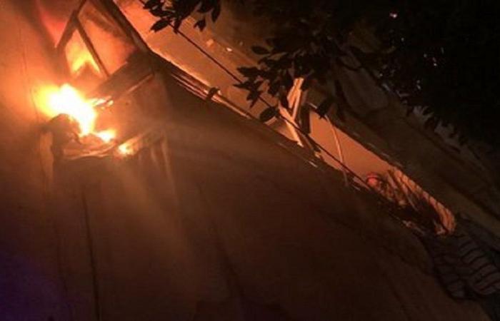 حريق داخل شقة في طريق الجديدة.. والسبب تخزين البنزين!