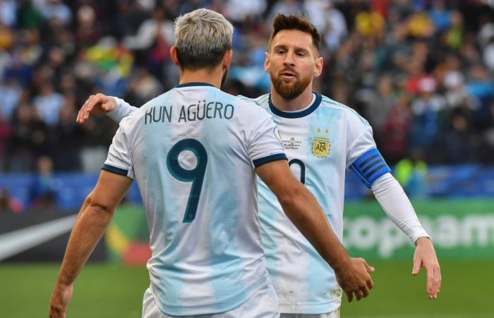 برشلونة يدخل بقوة في صفقة أغويرو.. ويزاحم يوفنتوس