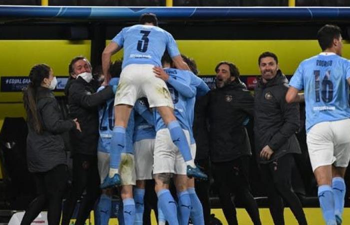 سيتي يهزم دورتموند ويتأهل لملاقاة باريس في نصف النهائي