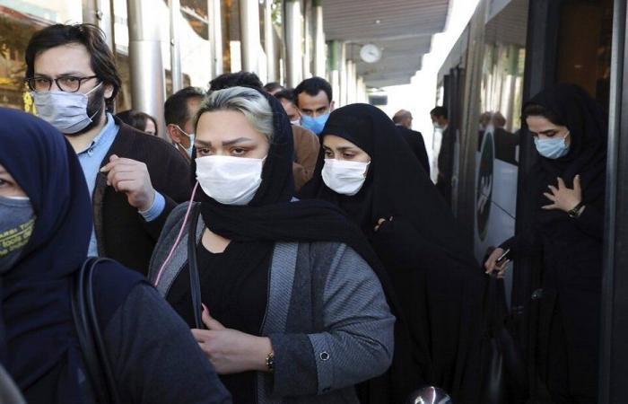 ارتفاع وفيات كورونا اليومية في إيران