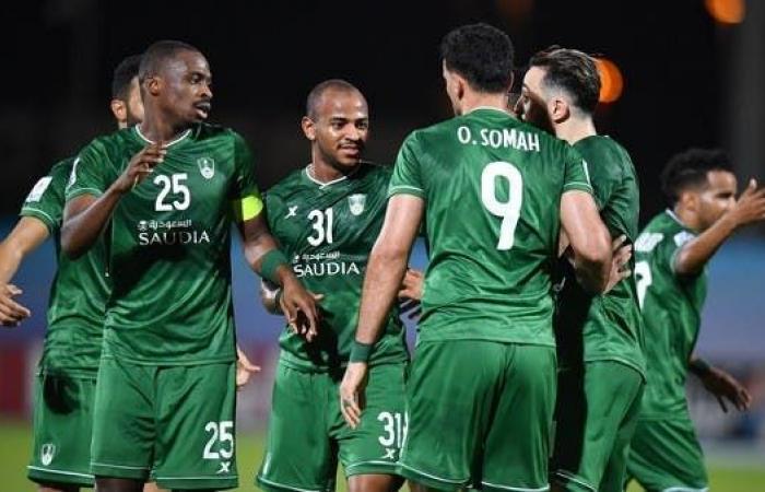 عمر السومة أفضل لاعب في مباراة أهلي جدة والدحيل