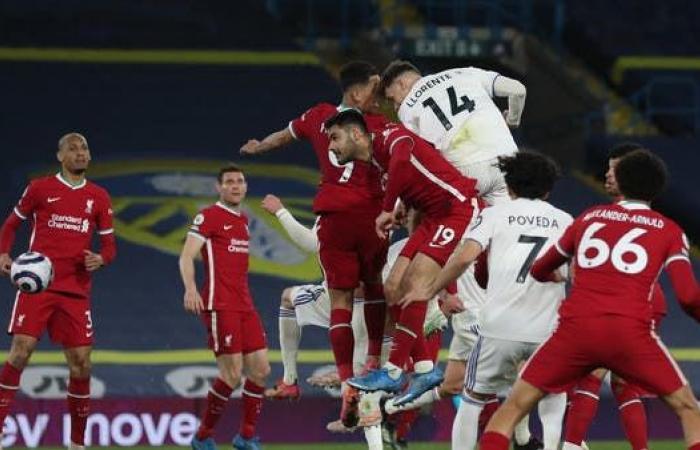 ليدز يحرم ليفربول من انتزاع المركز الرابع