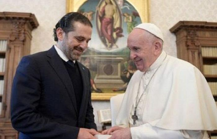 اهتمام فاتيكاني بكلام الحريري بعد لقاء البابا