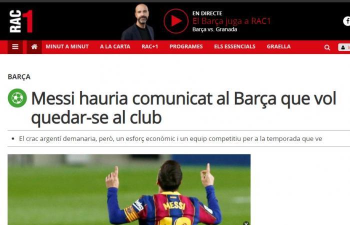 بعد أشهر من الغموض.. ميسي يقرر الاستمرار في برشلونة