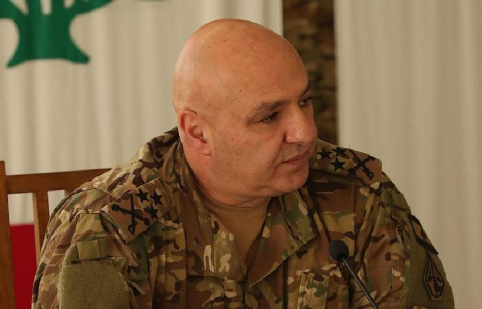 جوزف عون: لست مرشحاً وإذا انهار الجيش لن تبقى رئاسة