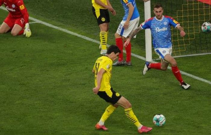 دورتموند يتأهل لملاقاة لايبزيغ في نهائي كأس ألمانيا