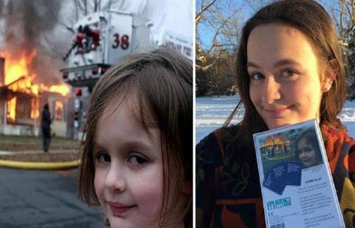 """""""الفتاة الكارثة"""" تحصد نصف مليون دولار من صورتها"""