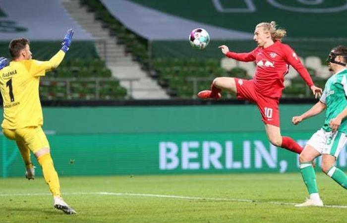 لايبزيغ يفوز على بريمن ويتأهل إلى نهائي كأس ألمانيا