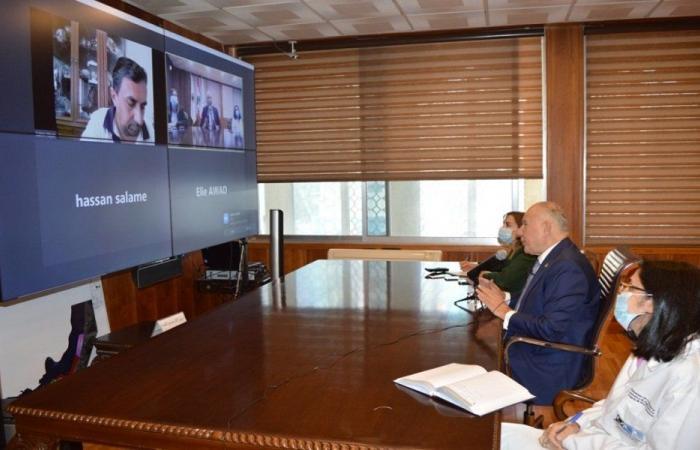 دبوسي وضع مختبرات طرابلس بتصرف الهيئة العامة لسلامة الغذاء