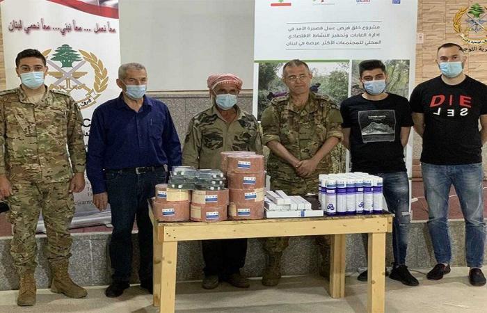 الجيش: توزيع أدوات أساسية على مربي المواشي في البقاع