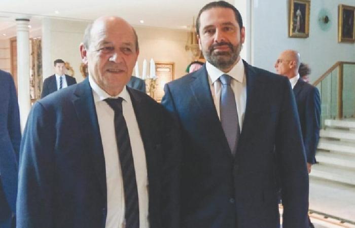 المكتب الإعلامي للحريري: الرئيس المكلف التقى لودريان مساءً