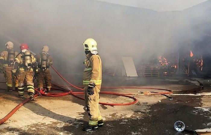 إخماد حريق في الخيام قضى على عدد من الأشجار والأعشاب