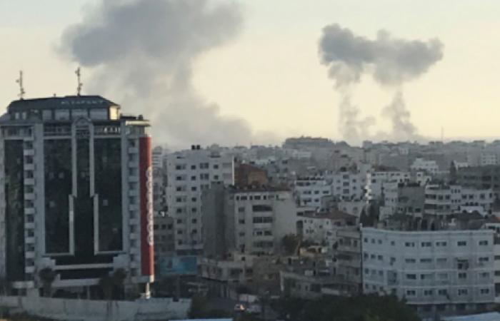 غزة تحت القصف من جديد