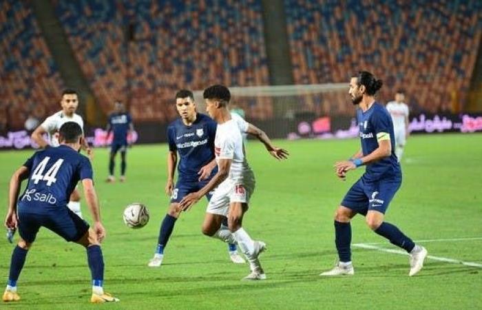 الزمالك يهزم إنبي بثلاثية في الدوري المصري