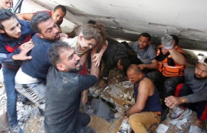 الصليب الأحمر: النزاع بين غزة وإسرائيل غير مسبوق في شدته
