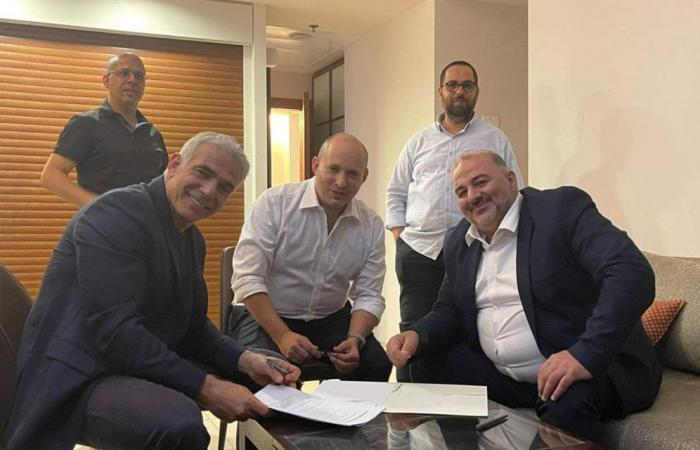 من هو الإخواني الذي يشارك بتشكيل حكومة إسرائيل المناوئة لنتنياهو؟