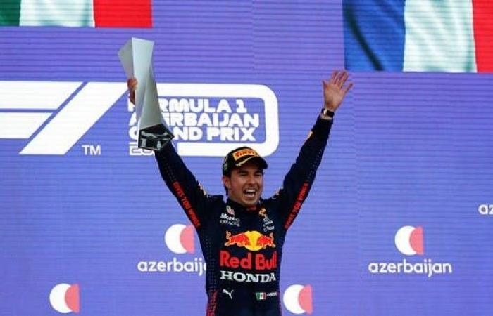 المكسيكي بيريز يفوز بجائزة أذربيجان الكبرى