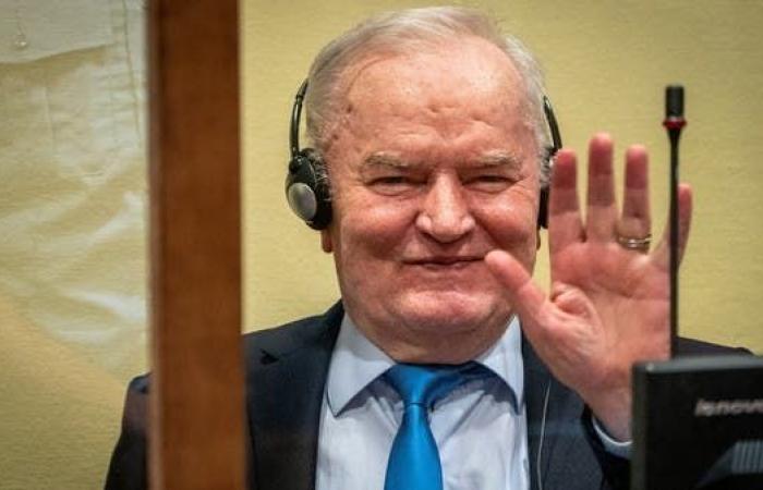 تأكيد الحكم بالسجن مدى الحياة بحق ملاديتش في مجازر البوسنة