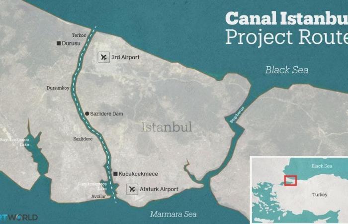 مع قرب بدء أعمال الحفر في قناة إسطنبول.. إمام أوغلو يدعو لإيقاف المشروع
