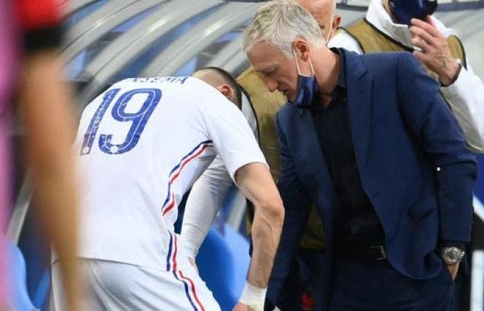 فرنسا تهزم بلغاريا بثلاثية.. وبنزيمة يخرج مصاباً