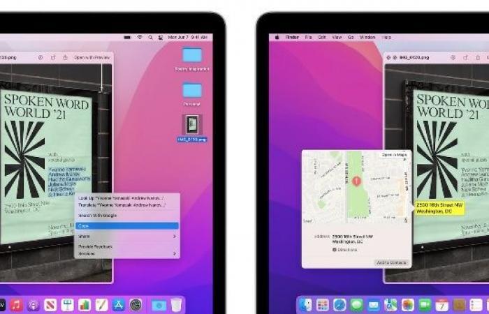 أجهزة ماك من إنتل تفتقر لأفضل ميزات macOS Monterey
