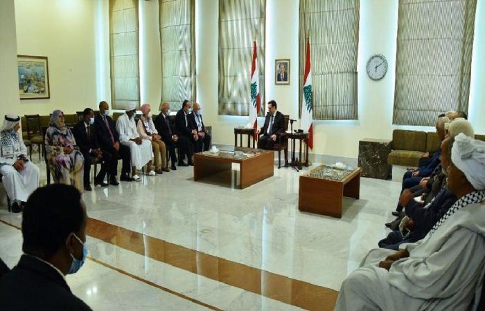 دياب: انهيار لبنان لا يخدم إلا إسرائيل