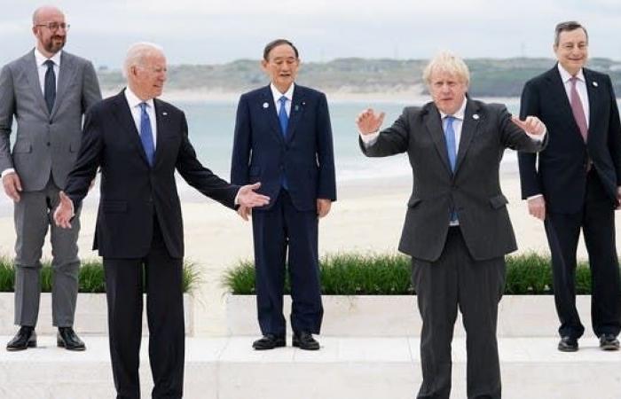 دول الـ G7 تقر خطة بنى تحتية للدول متدنية الدخل تنافس خطة الصين