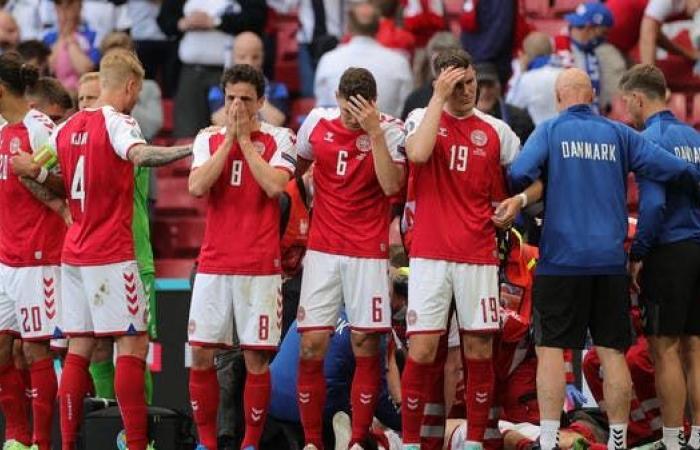مدرب الدنمارك: لاعبونا تعرضوا إلى الاستنزاف العاطفي