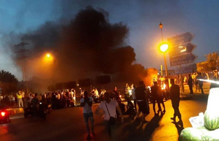 في طرابلس… قطع طرقات ومسيرات ووقفات أمام منازل النواب