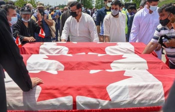 """توجيه تهم """"الإرهاب"""" لشاب دهس عائلة مسلمة عمداً بكندا"""