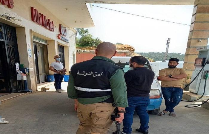 محاضر ضبط بحق محطات مخالفة في حلبا والعبدة