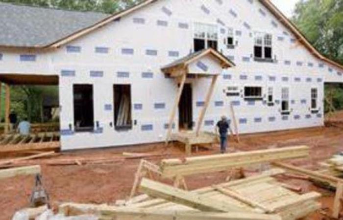 ارتفاع أقل من المتوقع لبناء المنازل في الولايات المتحدة