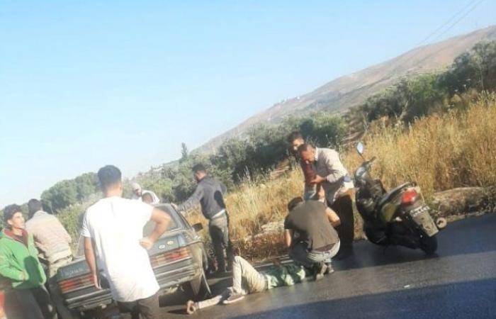 6 جرحى بحادث سير على طريق الضنية – طرابلس