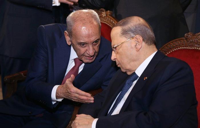 كيف بدا المشهد بعد المواجهة العنيفة بين عون وبري؟