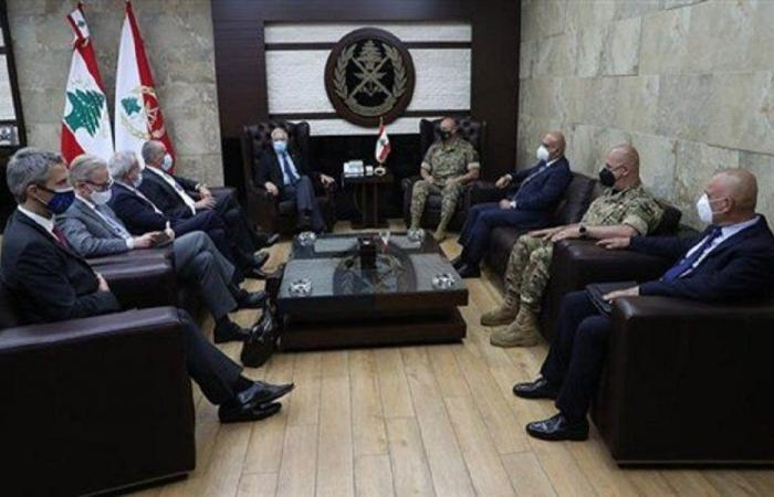 أوضاع لبنان والمنطقة بين قائد الجيش وبوريل